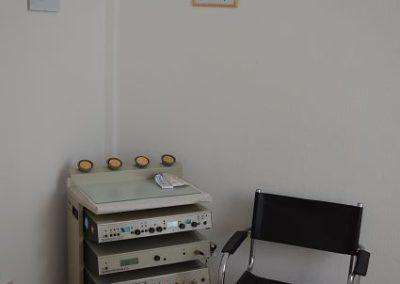 Elektro-Therapieplatz